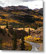 Lake Fork Of The Gunnison Metal Print