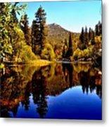 Lake Fulmor - Idyllwild, Ca Metal Print