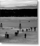 Lake Fun 6 Metal Print