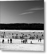 Lake Fun Metal Print
