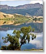 Lake Hayes New Zealand Metal Print