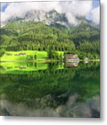 Lake Hintersee Metal Print