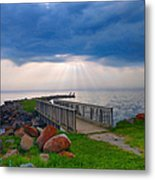 Lake Huron Michigan Metal Print