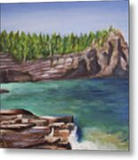 Lake Huron Metal Print