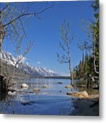 Lake Jenny Metal Print