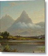 Lake Lauerz Metal Print