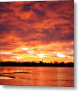 Lake Loveland Sunrise Metal Print