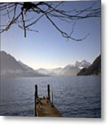 Lake Lucerne Metal Print