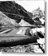 Lake Luise Metal Print