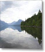 Lake Macdonald Reflection Metal Print