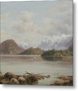 Lake Manapouri Metal Print