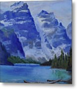 Lake Marine Metal Print