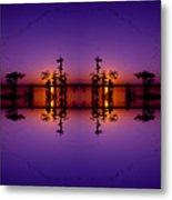 Lake Martin Sunset No.88 Metal Print