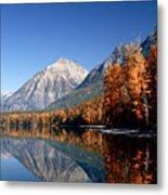 Lake Mcdonald Autumn Metal Print