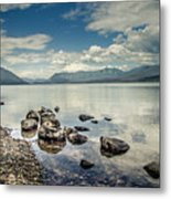 Lake Mcdonald - Glacier National Park Metal Print