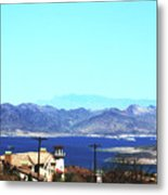 Lake Mead Las Vegas Metal Print