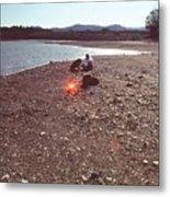 Lake Mendocino Metal Print