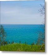 Lake Michigan In May Metal Print