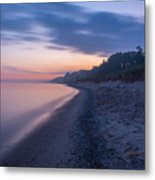 Lake Michigan Morning 2 Metal Print