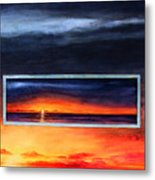 Lake Michigan Sunrise Metal Print
