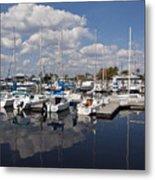 Lake Monroe At The Port Of Sanford Florida Metal Print