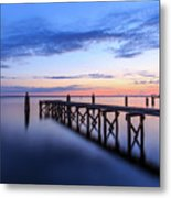 Lake Monroe At Twilight Metal Print