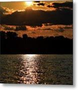 Lake Murray Golden Hour Metal Print