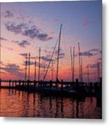 Lake Norman Sunset Metal Print