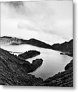 Lake Of Fire - Lagoa Do Fogo Metal Print