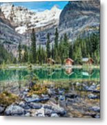 Lake O'hara At Dusk Metal Print