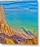 Lake Ontario At Chimney Bluff Metal Print