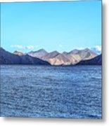 Lake Pangong Metal Print