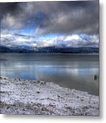 Lake Pend D'oreille At 41 South Metal Print