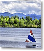 Lake Placid Metal Print