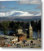 Lake Placid Ny Metal Print