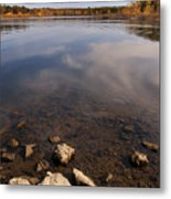 Lake Pomme De Terre In October Metal Print