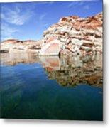 Lake Powell And The Glen Canyon Metal Print