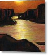 Lake Powell At Sunset Metal Print