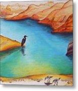 Lake Powell Birds Metal Print