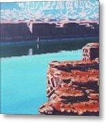 Lake Powell Overlook Metal Print