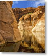 Lake Powell Stillness Metal Print