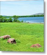 Lake Quanah Parker -  Wichita Mountains - Oklahoma Metal Print