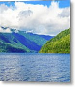Lake Quinault Washington Metal Print