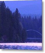 Lake Shasta Bridge Metal Print