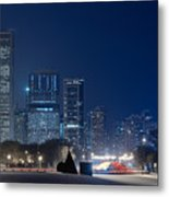 Lake Shore Drive Chicago Metal Print