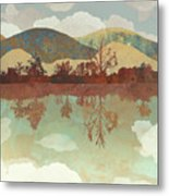 Lake Side Metal Print