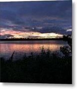 Lake Sky Metal Print