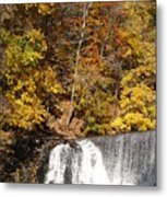 Lake Solitude Falls Metal Print