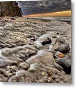 Lake Superior Northern Michigan  Metal Print