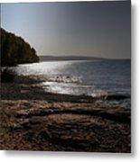 Lake Superior Shore Metal Print
